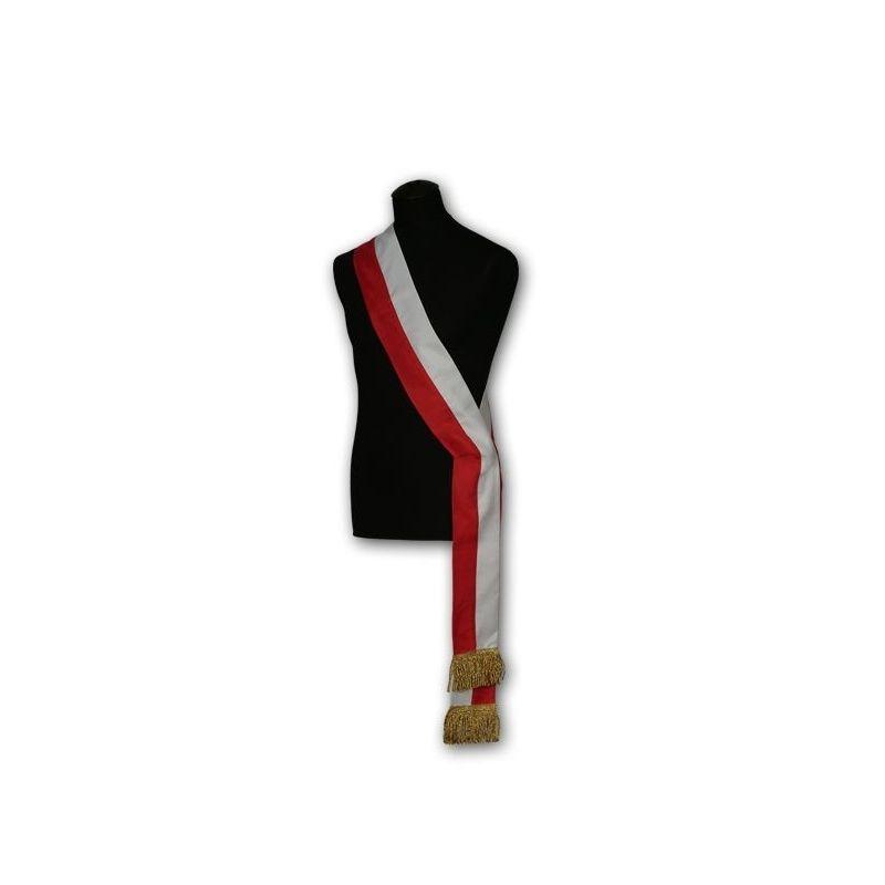 Szarfa biało-czerwona