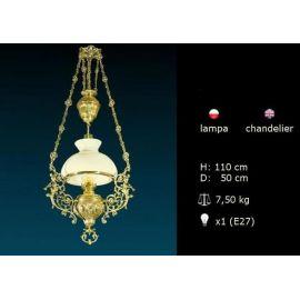 Lampa styl barokowy
