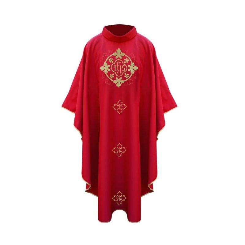 Ornat mszalny z eucharystycznym haftem
