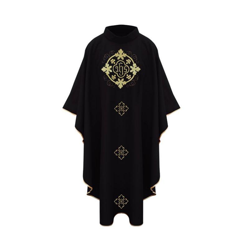 Ornat eucharystyczny czarny