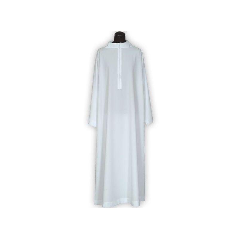 Alba kapłańska kaptur, bez zakładek