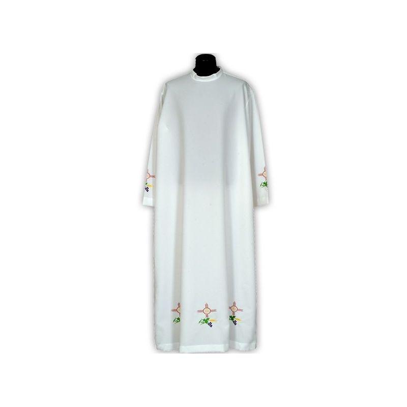 Alba kapłańska haftowana
