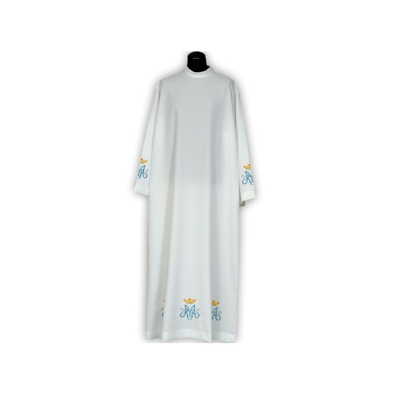 Alba kapłańska haftowana Maryjna (2)