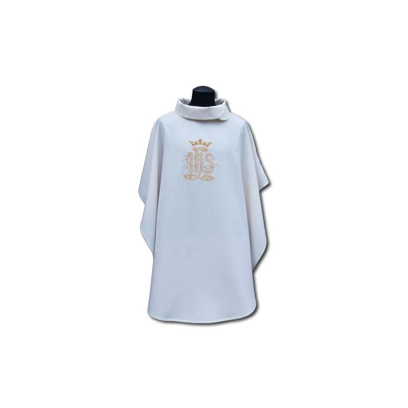 Biała peleryna Maryjna