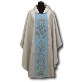 Ornat Maryjny srebrny (023)