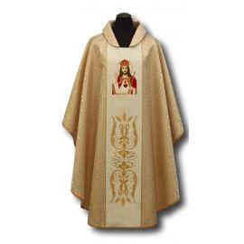 Ornat haftowany Chrystus Król