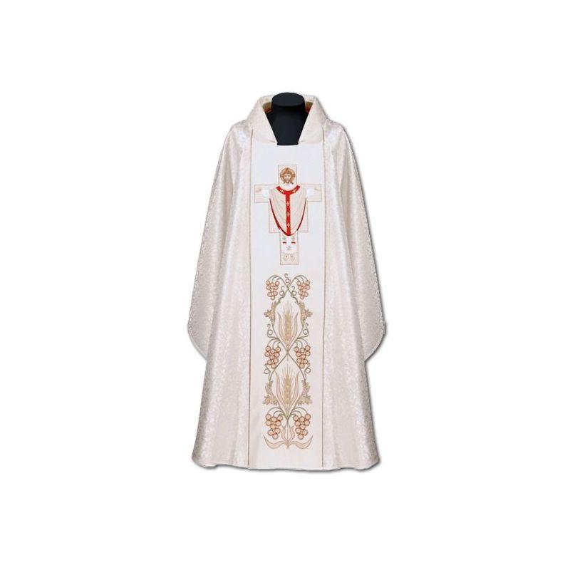 Ornat haftowany Chrystus Najwyższy Kapłan