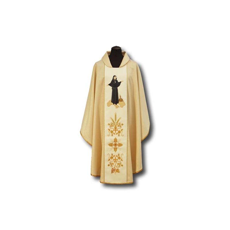 Ornat haftowany św. Faustyna