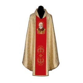 Ornat haftowany Ojciec Pio