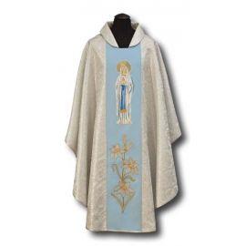 Ornat z wizerunkiem MB z Lourdes