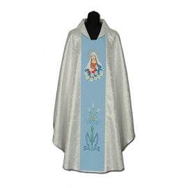 Ornat haftowany Serce Matki Bożej