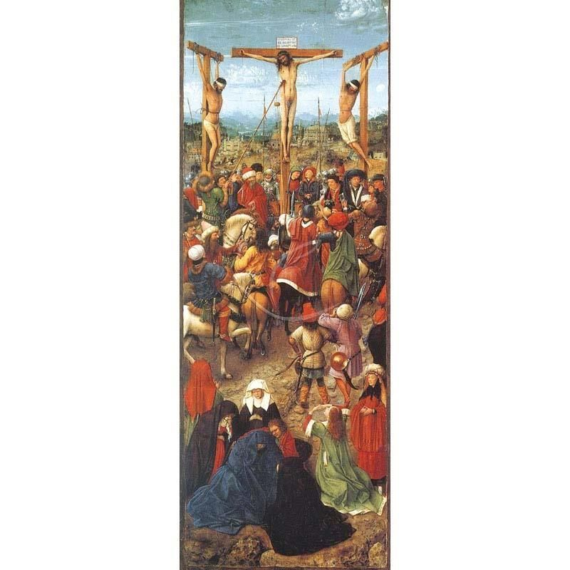 Baner Wielkanocny - Ukrzyżowanie Jezusa