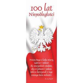 Baner - Niepodległa Polska, 100 rocznica