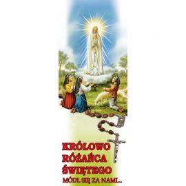 Baner - Królowa Różańca Świętego