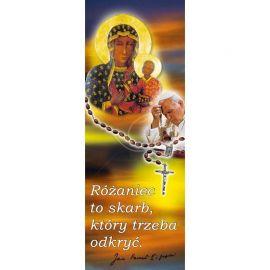 Baner - Różaniec Matka Boża Częstochowska