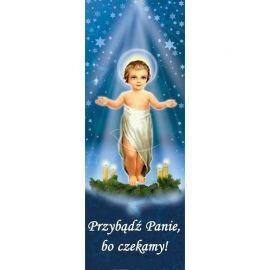 Baner Bożonarodzeniowy - Dzieciątko Jezus
