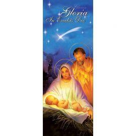 Baner Bożonarodzeniowy - Święta Rodzina