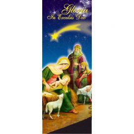 Baner Bożonarodzeniowy - Gloria in excelsis Deo