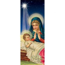 Baner Bożonarodzeniowy - Gloria in excelsis Deo (2)