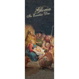 Baner Bożonarodzeniowy - Gloria in excelsis Deo (4)