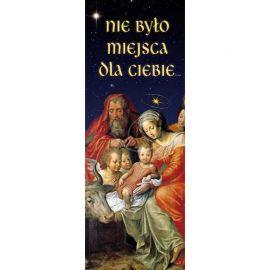 Baner Bożonarodzeniowy - Nie było miejsca dla Ciebie