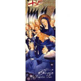Baner Bożonarodzeniowy - Gloria Gloria in excelsis Deo (5)