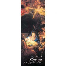 Baner Bożonarodzeniowy - Gloria Gloria in excelsis Deo (6)