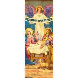 Baner Bożonarodzeniowy - Wyznajemy Boga w Tobie