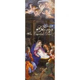 Baner Bożonarodzeniowy - Gloria Gloria in excelsis Deo (7)