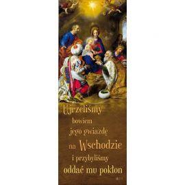Baner Bożonarodzeniowy - Ujrzeliśmy jego gwiazdę na wschodzie