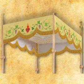 Baldachim haftowany na procesję (1)