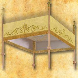 Baldachim haftowany na procesję (2)