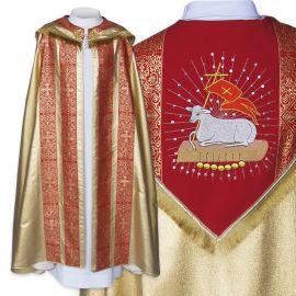 Kapa liturgiczna haftowana wielkanocna (6)