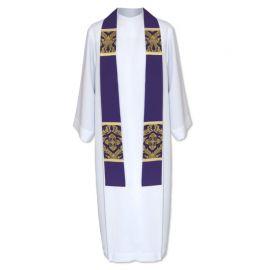 Stuła kapłańska fioletowa (43)