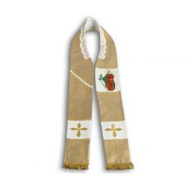 Stuła kapłańska - św. Katarzyna - Patronki Kolejarzy