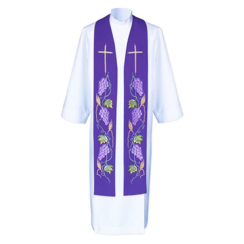 Stuła kapłańska haftowana - koncelebra (1)