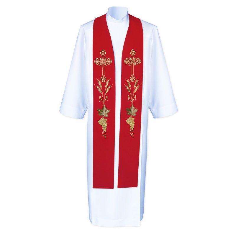 Stuła kapłańska haftowana - koncelebra (5)
