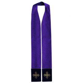 Stuła kapłańska - tkanina żakard