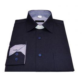 Koszula kapłańska - kołnierz KENT (kratka)