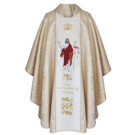 Ornat wielkanocny - Jezus Zmartwychwstały
