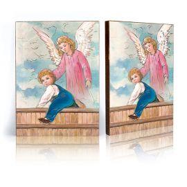 Ikona Anioł Stróż - płotek (37)