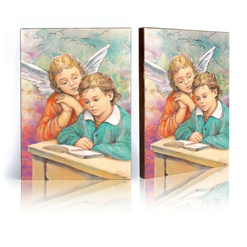 Ikona Anioł Stróż - uczący się (39)