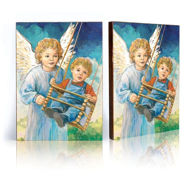 Ikona Anioł Stróż - huśtawka (40)