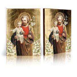 Ikona Święty Józef z Dzieciątkiem Jezus (2)