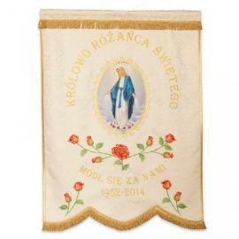 Chorągiew Maryjna - wzór przykładowy