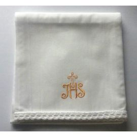 Korporał złoty IHS krzyż
