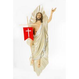 Chrystus Zmartwychwstały - figura do zawieszenia - 134 cm