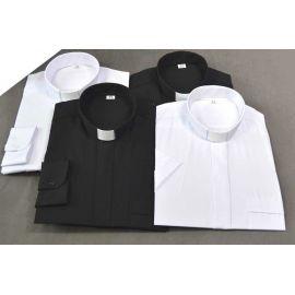 Koszula kapłańska (elanobawełna)