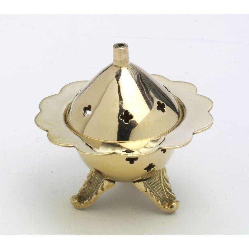 Kadzielniczka domowa kolor złoty