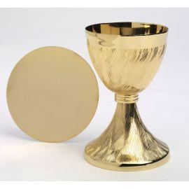 Kielich złocony - 17 cm.